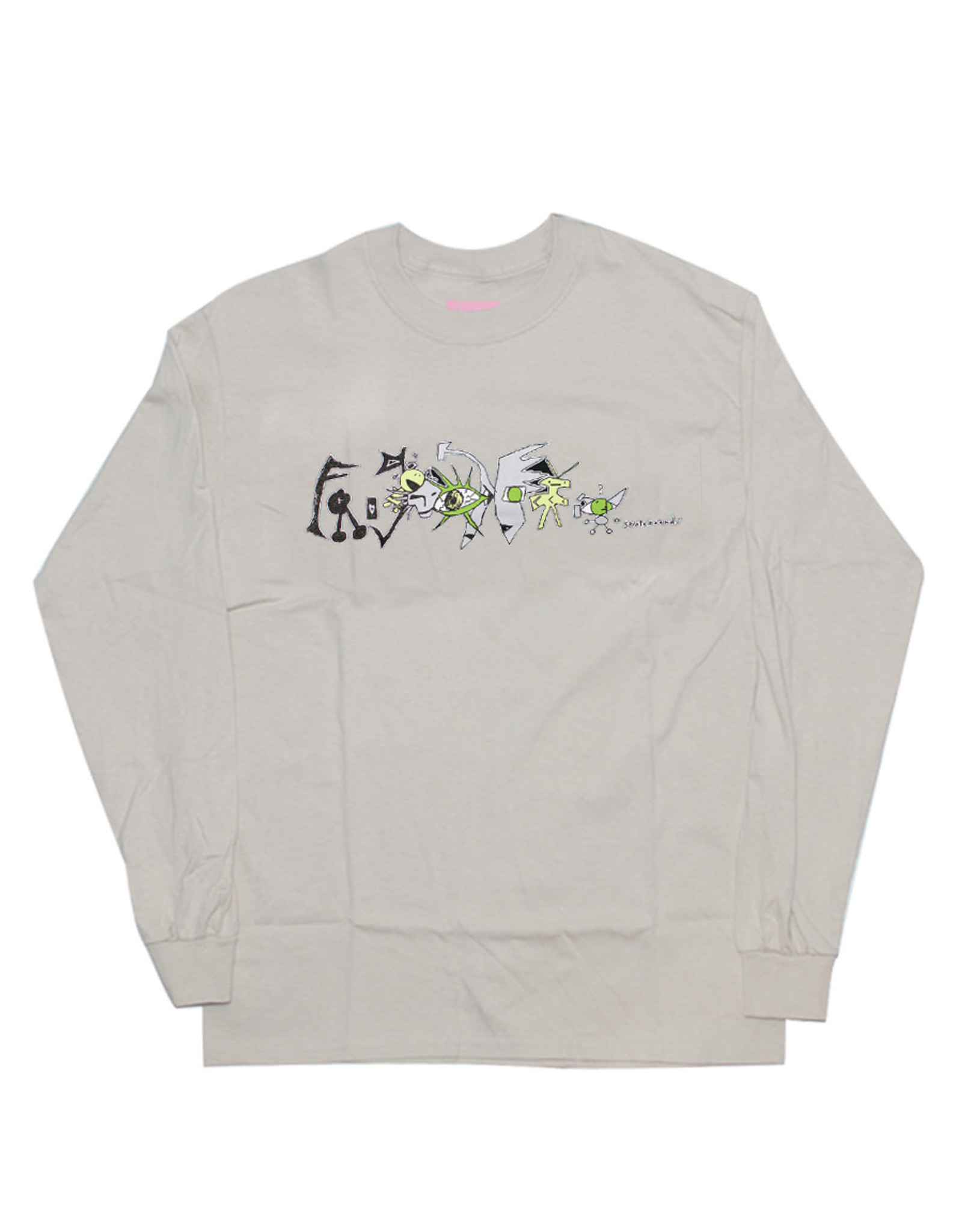 Frog Frog Tee Pat Gallaher L/S (Sand)