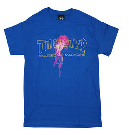 Thrasher Thrasher Tee Mens Atlantic Drift S/S (Royal Blue)