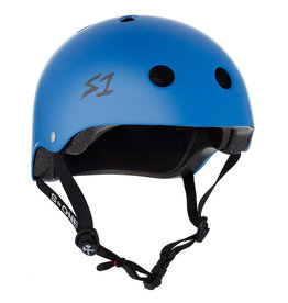 S-One S-One Helmet The Adult Lifer (Cyan Matte/Black Straps)