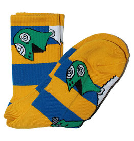 Toy Machine Toy Machine Socks Kill Art Crew (Navy/Yellow)