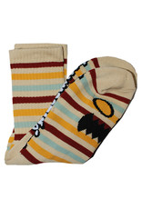 Toy Machine Toy Machine Socks Monster Face Mini Stripes Crew (Multi)