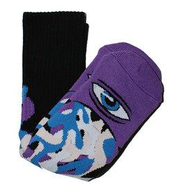 Toy Machine Toy Machine Socks Barf Sect Crew (Multi Purple)