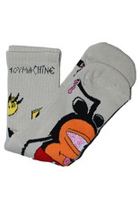 Toy Machine Toy Machine Socks Mousketeer Crew (White)