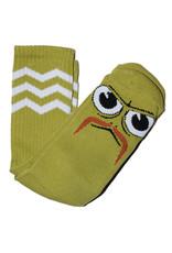 Toy Machine Toy Machine Socks Turtleboy Stache Crew (Lime)