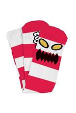 Toy Machine Toy Machine Socks Monster Big Stripe Crew (Red)