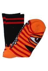 Toy Machine Toy Machine Socks Sect Eye Stripe Crew (Orange/Red)