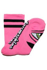 Toy Machine Toy Machine Socks Sect Eye Crew (Neon Pink)