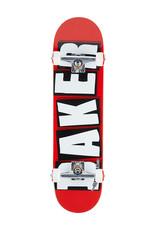 Baker Baker Complete Team Brand Logo Red/Black/White (8.0)
