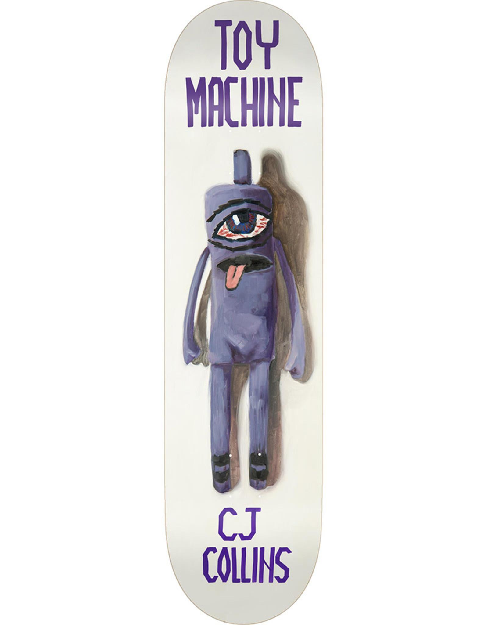 Toy Machine Toy Machine Deck CJ Collins Doll (7.75)