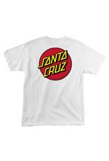 Santa Cruz Santa Cruz Tee Classic Dot Regular S/S (White)