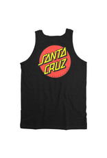Santa Cruz Santa Cruz Tank Classic Dot Regular (Black)