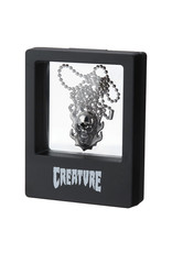 Creature Creature Necklace Bonehead (Antique Silver)
