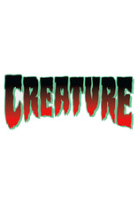 "Creature Creature Sticker Logo Horror Red (2"")"