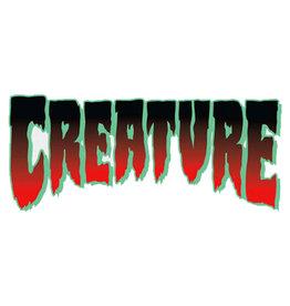 "Creature Creature Sticker Logo Horror Red (2"")"