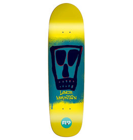 Flip Skateboards Flip Deck Lance Mountain Block Yellow (8.75)