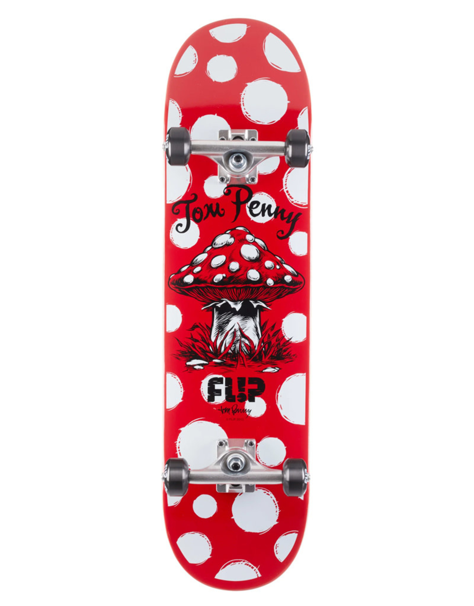 Flip Skateboards Flip Complete Tom Penny Dots Red (8.13)
