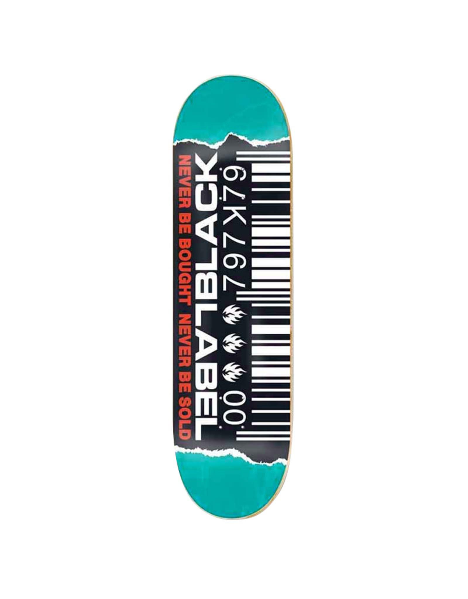 Black Label Black Label Deck Team Barcode Ripped (8.8)