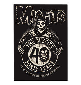 Star 500 Concert Series On Hollywood Sticker The Misfits 40 Anniversary