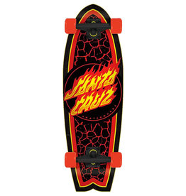 Santa Cruz Santa Cruz Complete Flame Dot Shark Cruzer (8.8)