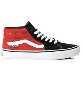 Vans Vans Shoe Skate Mid Grosso (Black/Red)