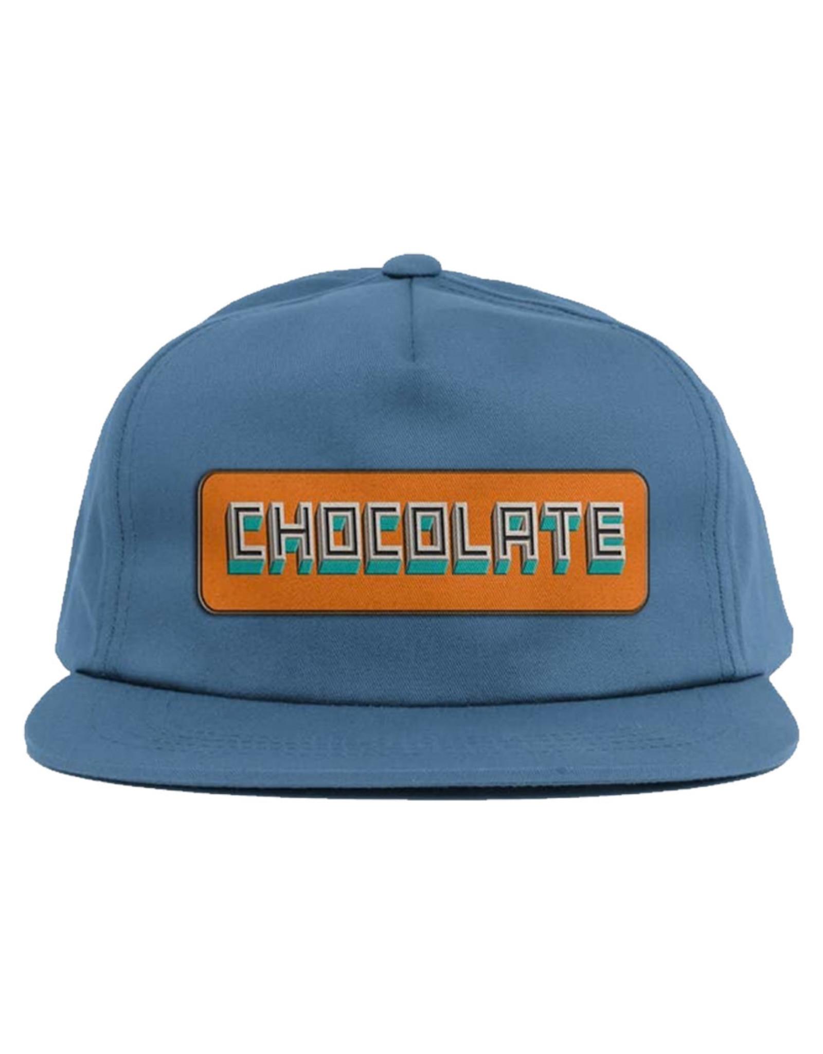 Chocolate Chocolate Hat Bar Snapback (Slate)