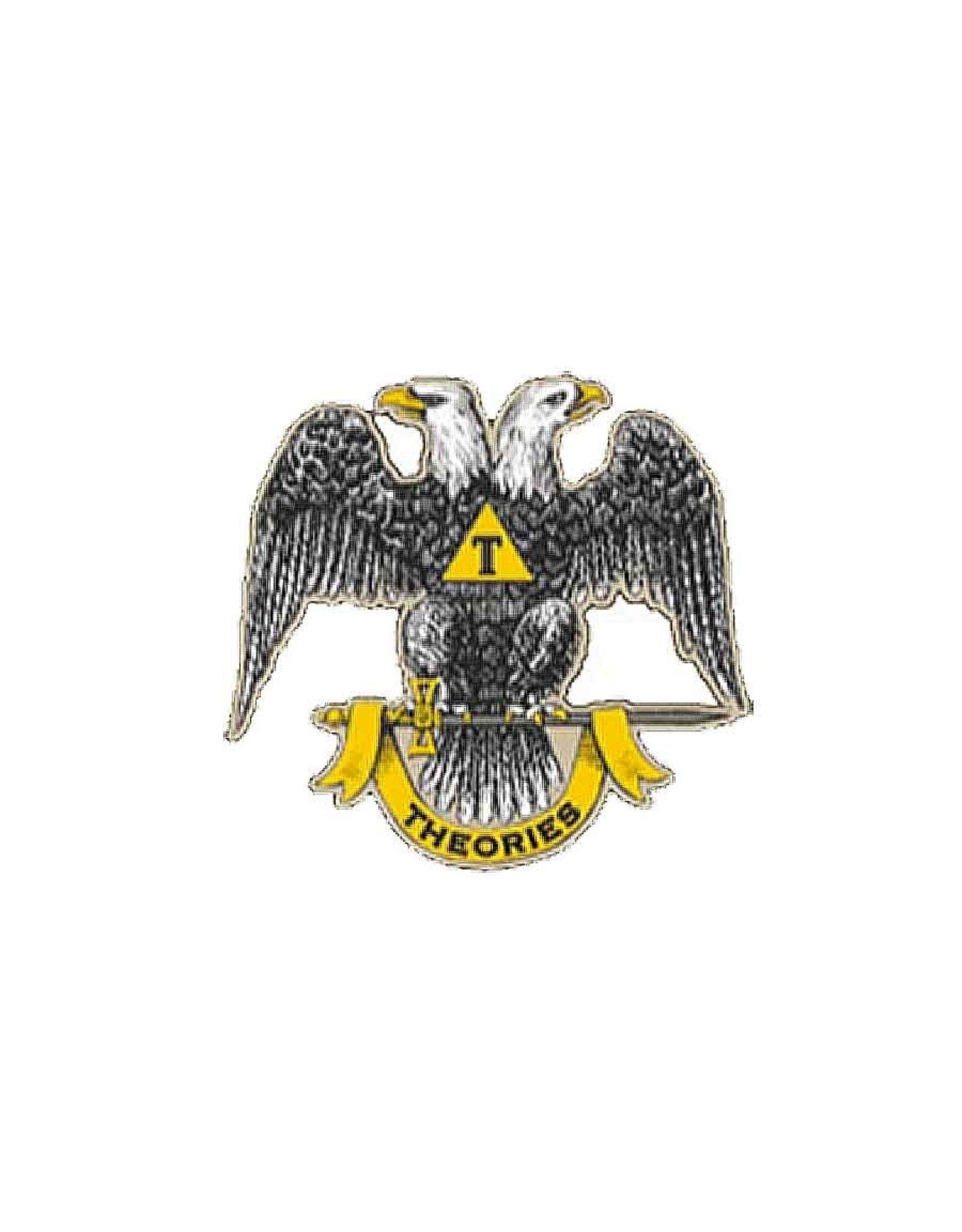 Theories Of Atlantis Theories Sticker Twin Eagle