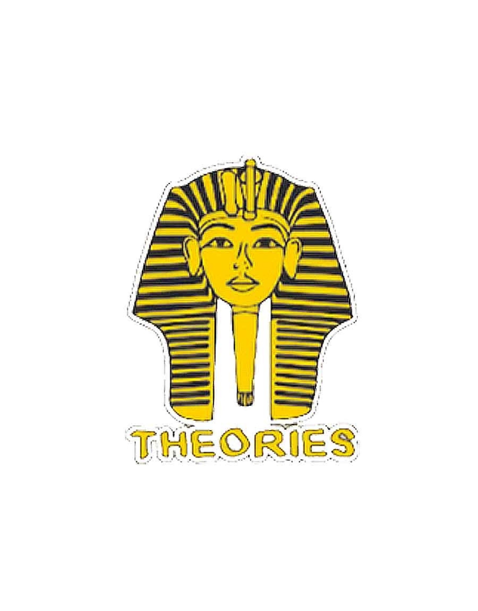 Theories Of Atlantis Theories Sticker Pharoah