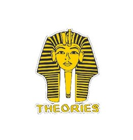 Theories Of Atlantis Theories Sticker Pharoah