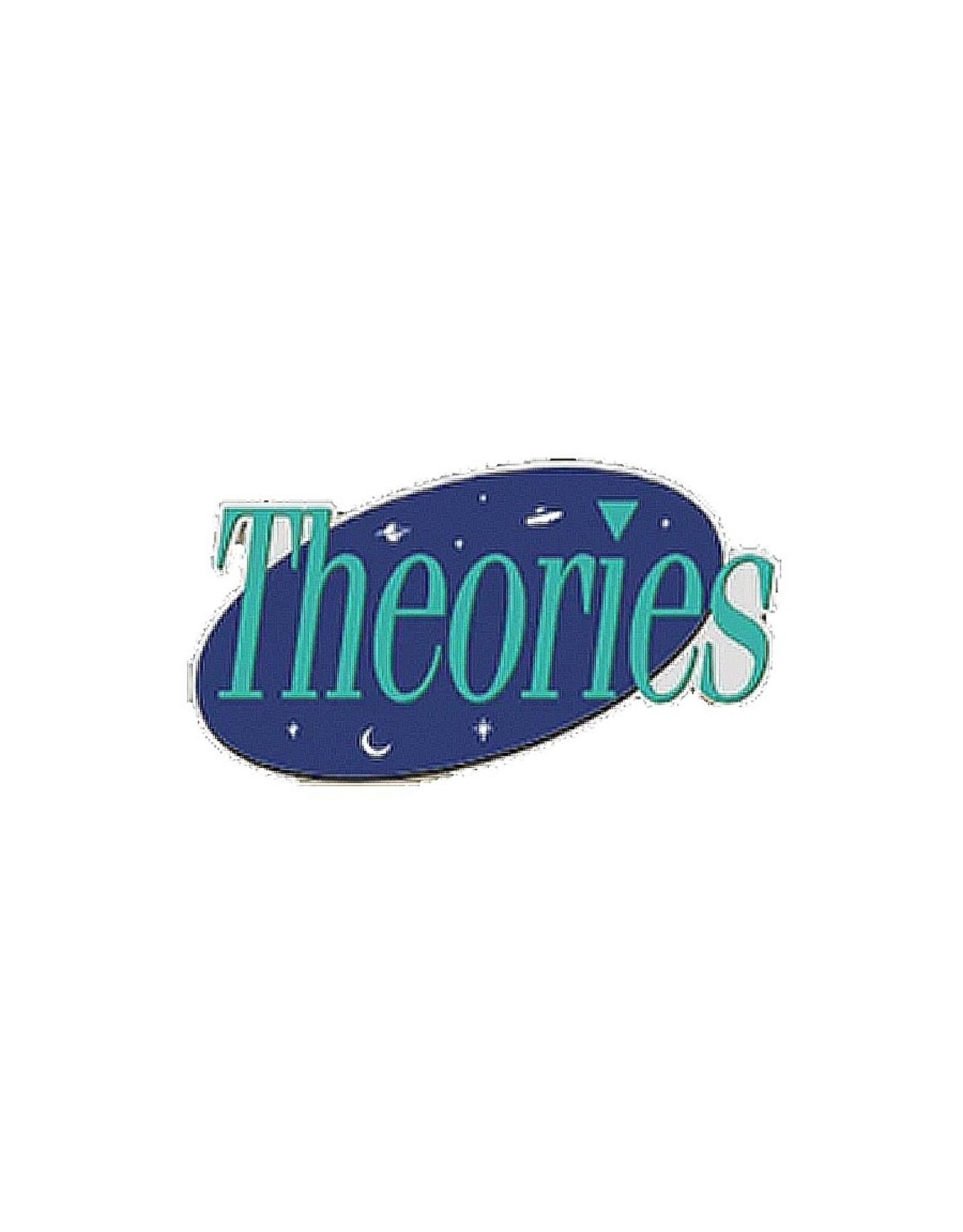 Theories Of Atlantis Theories Sticker Seinfeld