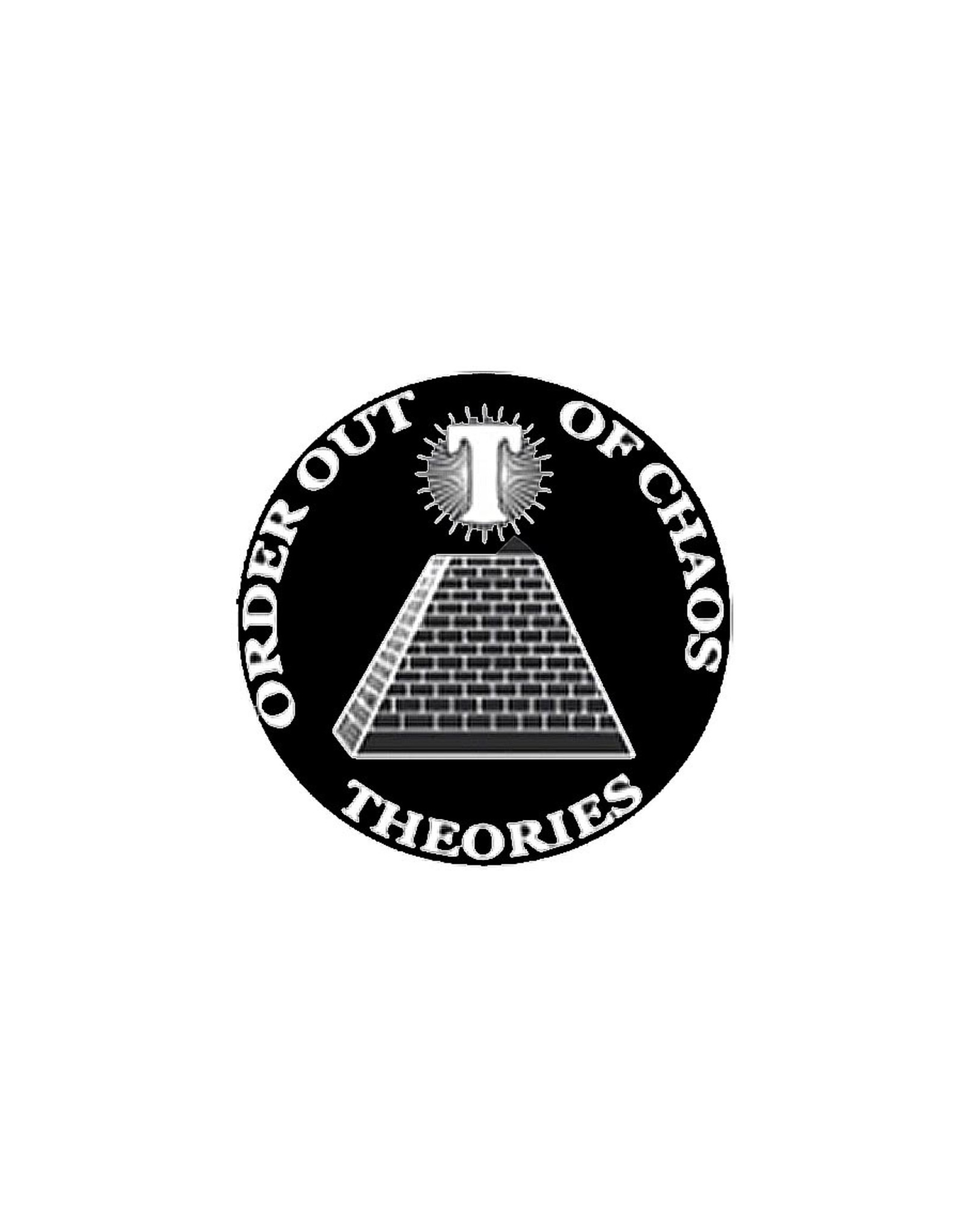 Theories Of Atlantis Theories Sticker Chaos (Black/White)