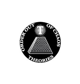 Theories Of Atlantis Theories Sticker Chaos (Black/White)