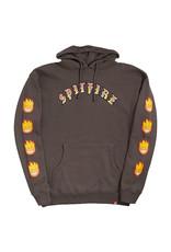 Spitfire Spitfire Hood Old E Bighead Flame (Charcoal)