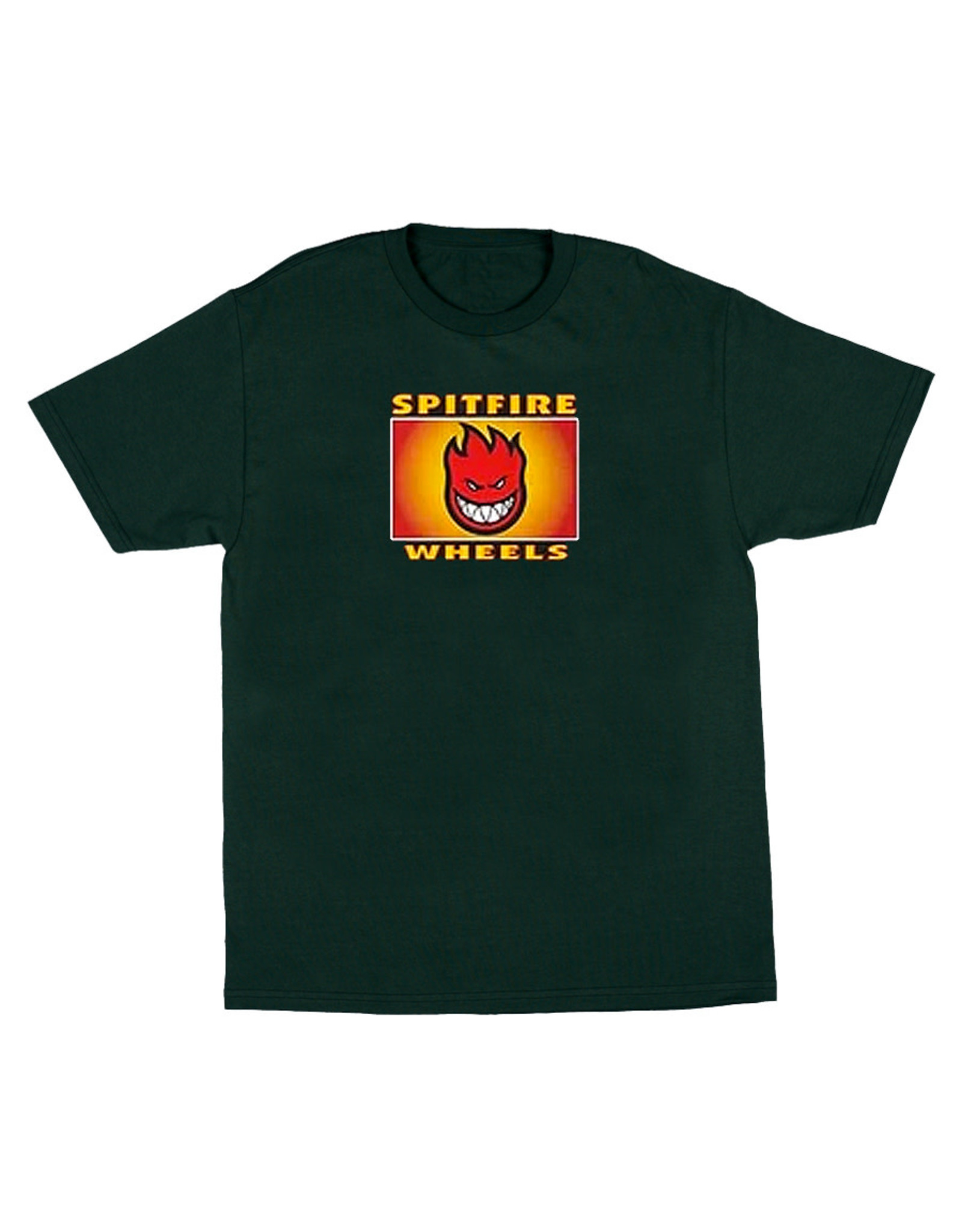 Spitfire Spitfire Tee Label First S/S (Green)