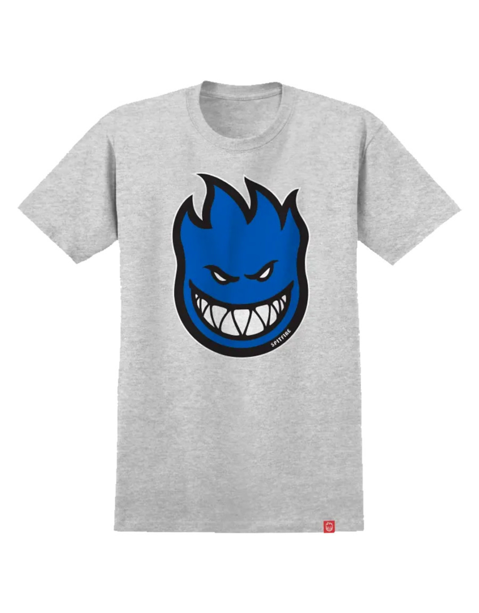 Spitfire Spitfire Tee Bighead Fill S/S (Athletic Heather/Blue)