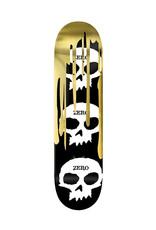 Zero Skateboards Zero Deck Team Shattered Skull Silver Foil (8.25)