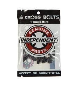 Independent Independent Hardware Black (Phillips/1 inch)