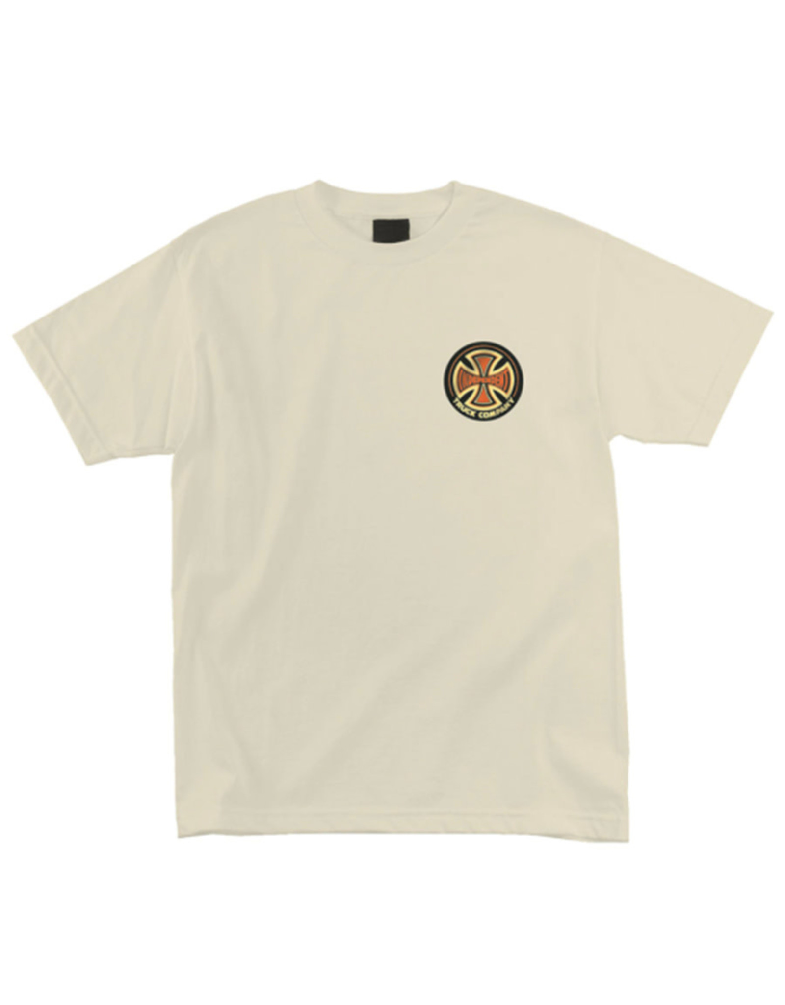 Independent Independent Tee 78 Cross Regular S/S (Cream)