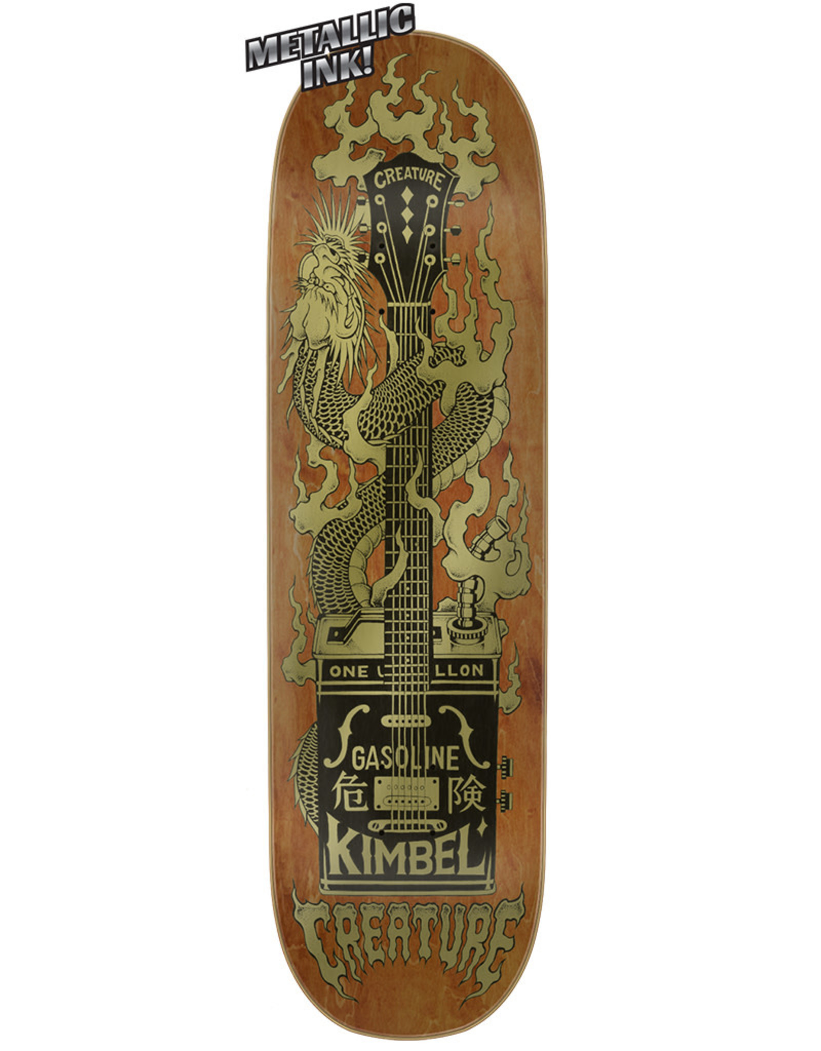 Creature Creature Deck Willis Kimbel Gas Can Flame (9.0)