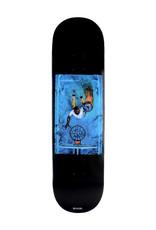 Quasi Skateboards Quasi Deck Justin Henry Game Black (8.5)