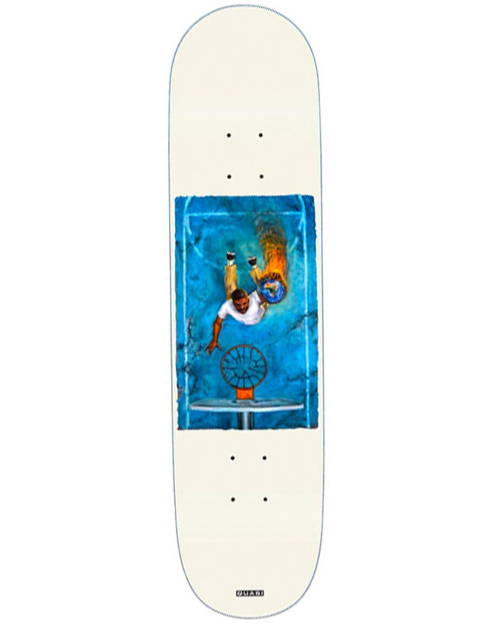 Quasi Skateboards Quasi Deck Justin Henry Game White (8.25)