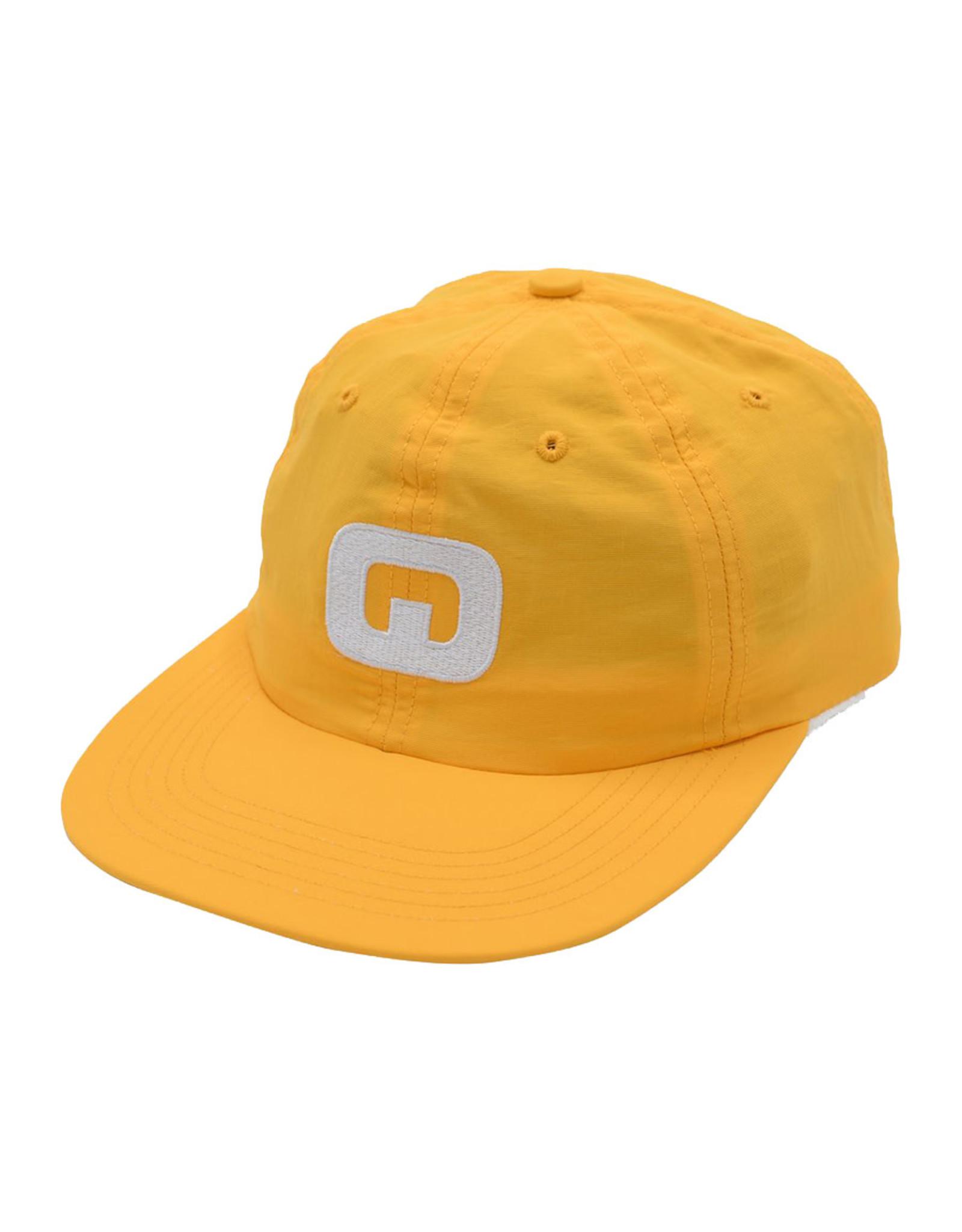 Quasi Skateboards Quasi Hat 6 Panel Letter Snapback (Gold)