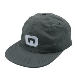 Quasi Skateboards Quasi Hat 6 Panel Letter Snapback (Grey)