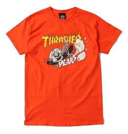 Thrasher Thrasher Tee Mens 40 Years Neckface S/S (Orange)