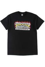 Thrasher Thrasher Tee Mens Krak Skulls S/S (Black)