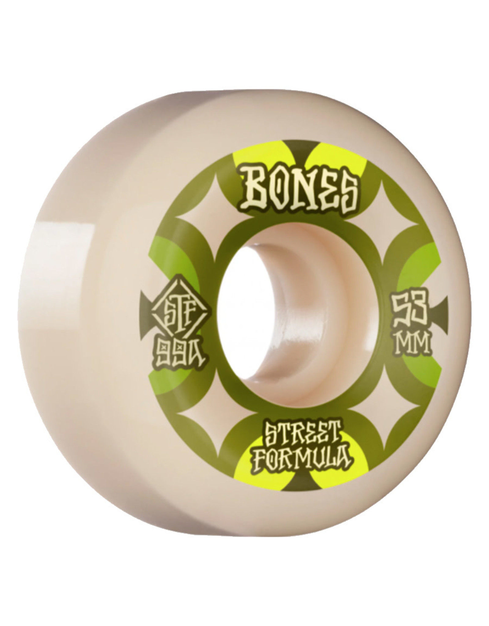 Bones Bones Wheels STF Retros V5 Sidecut White (54mm/99a)