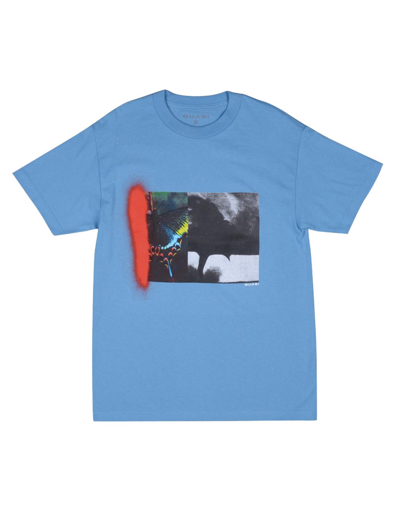 Quasi Skateboards Quasi Tee Tornado S/S (Carolina Blue)