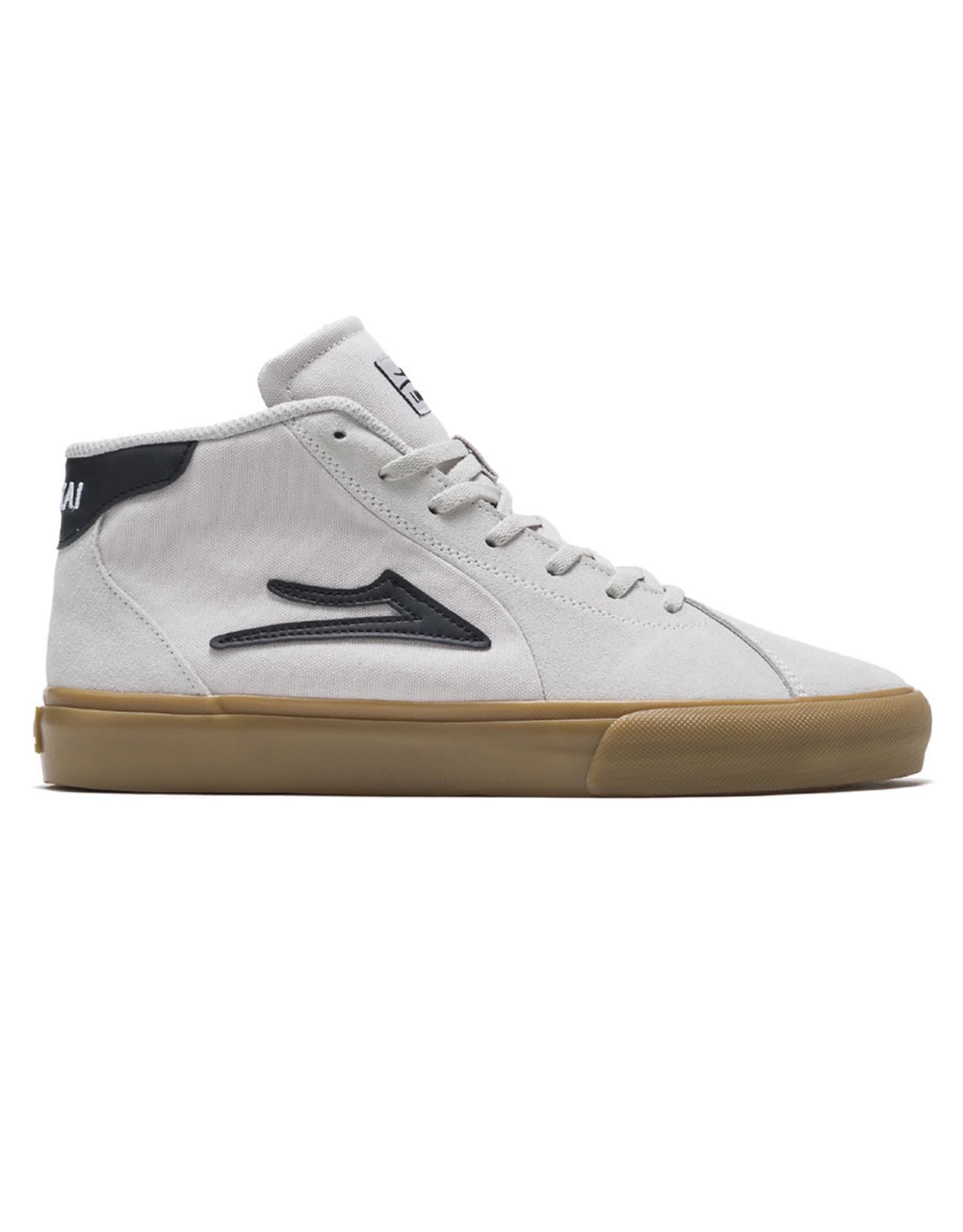 Lakai Shoes Lakai Shoe Flaco II Mid (White/Gum Suede)