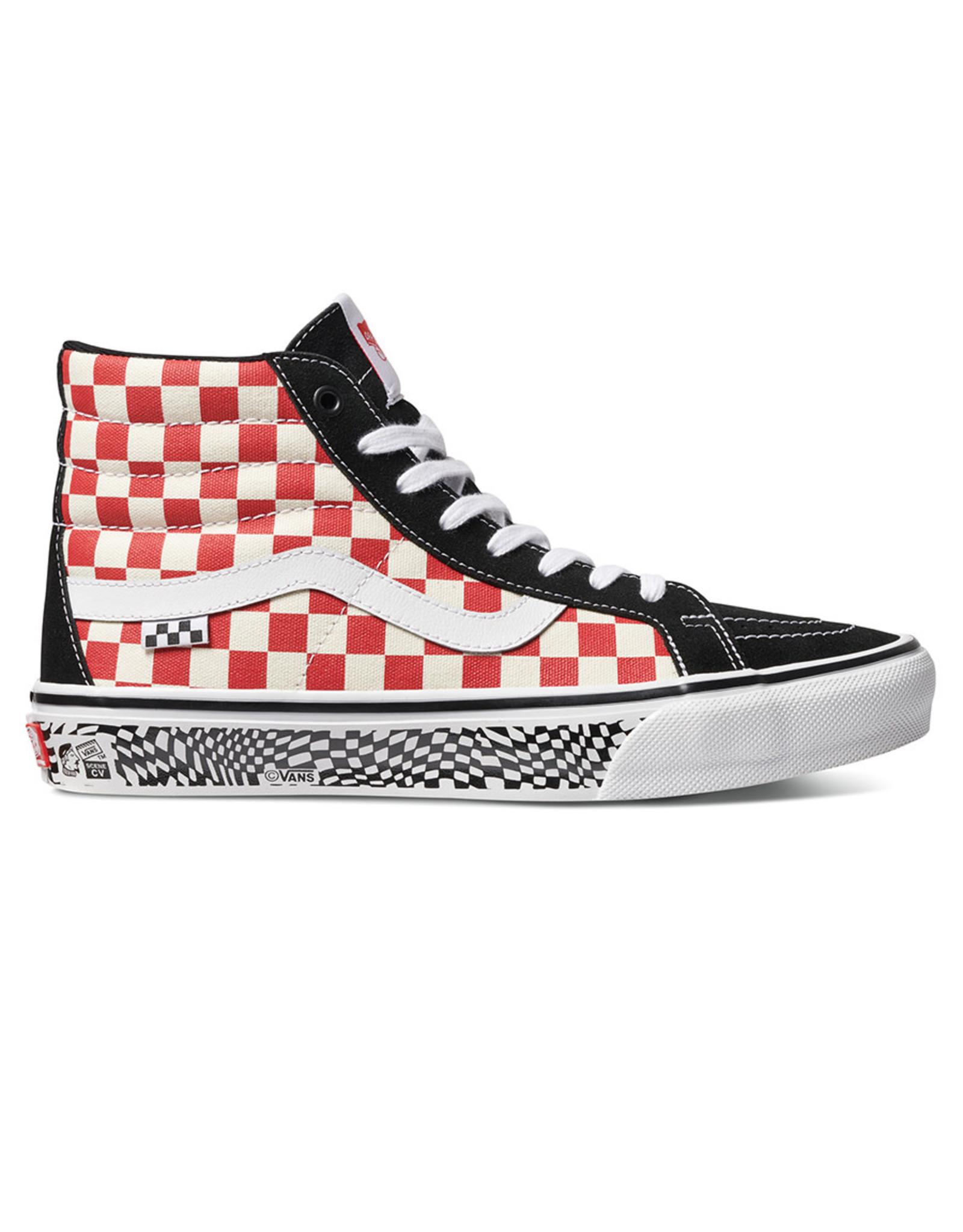 Vans Vans Shoe Skate Sk8-Hi Reissue Grosso '84 (Black/Red Checker)
