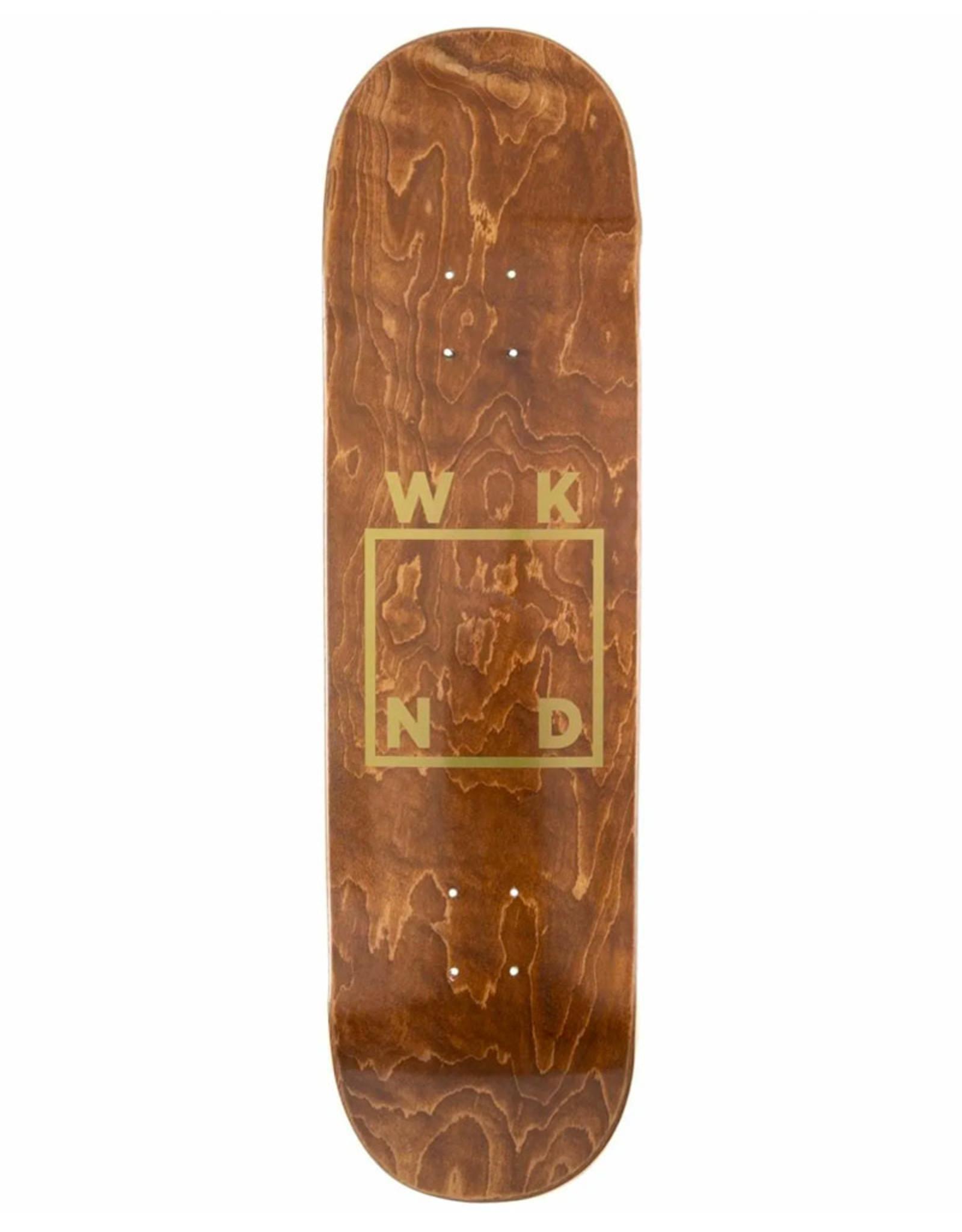 Wknd Skateboards Wknd Deck Team Gold Logo (8.125)