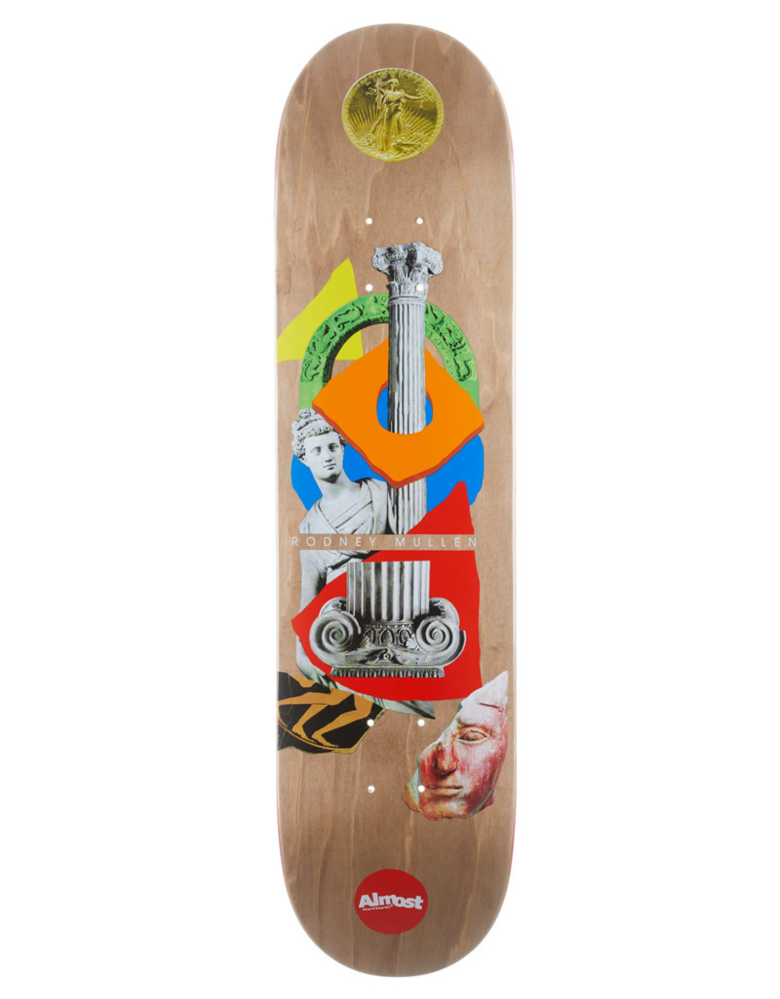Almost Almost Deck Rodney Mullen Relics R7 Brown (7.75)